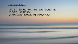 Mailwizz checklist